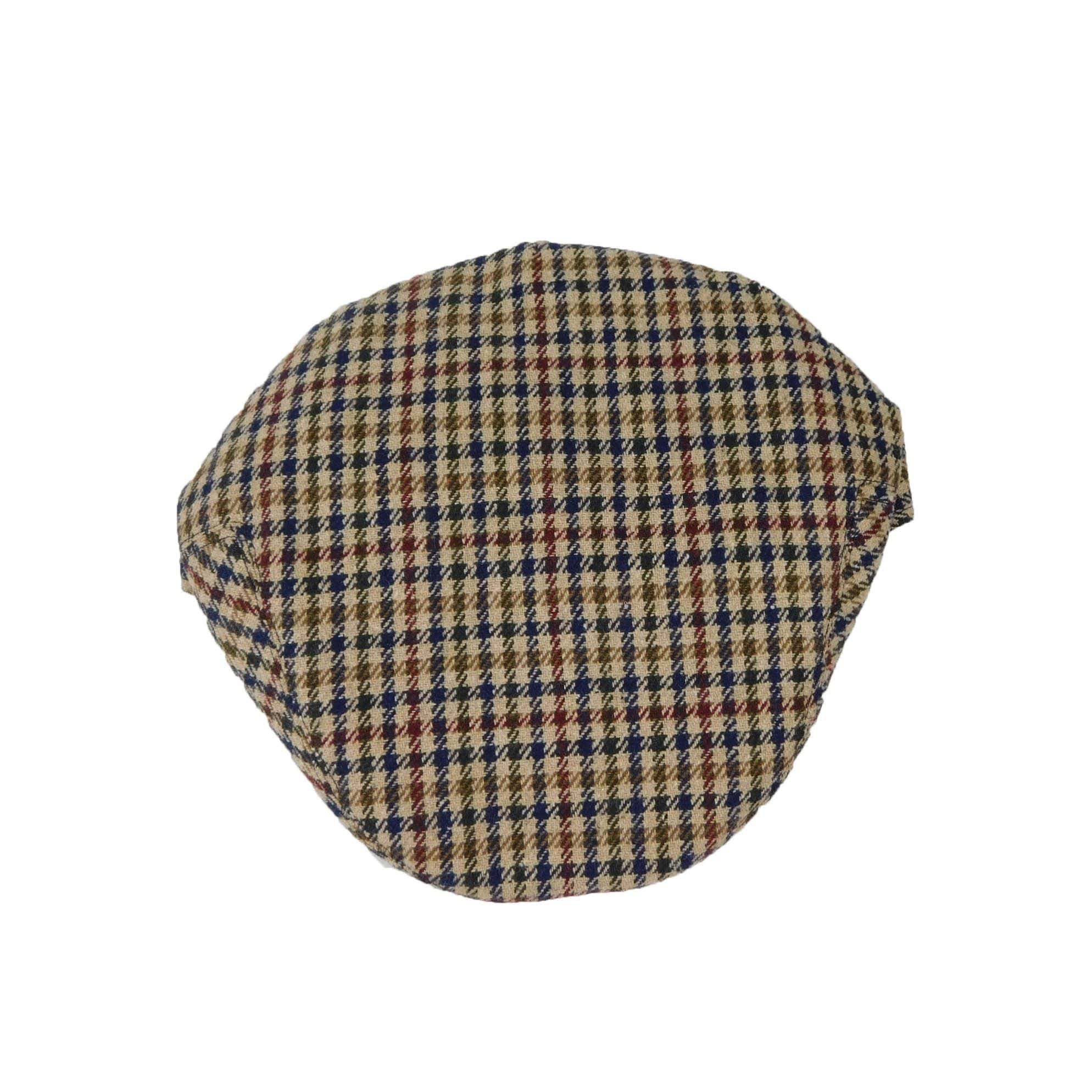 Classic Style Plaid Driving Cap - SetarTrading Hats