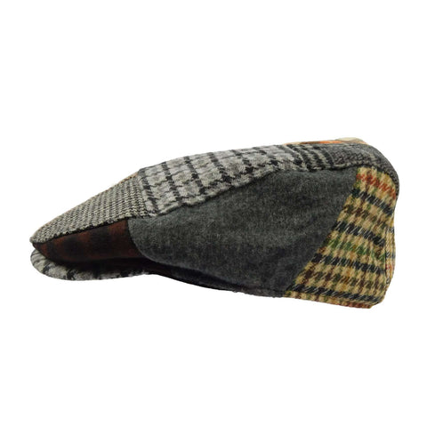 Patchwork Wool Ivy Cap