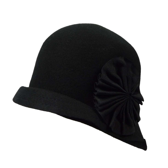 Structured Brim Cloche - SetarTrading Hats