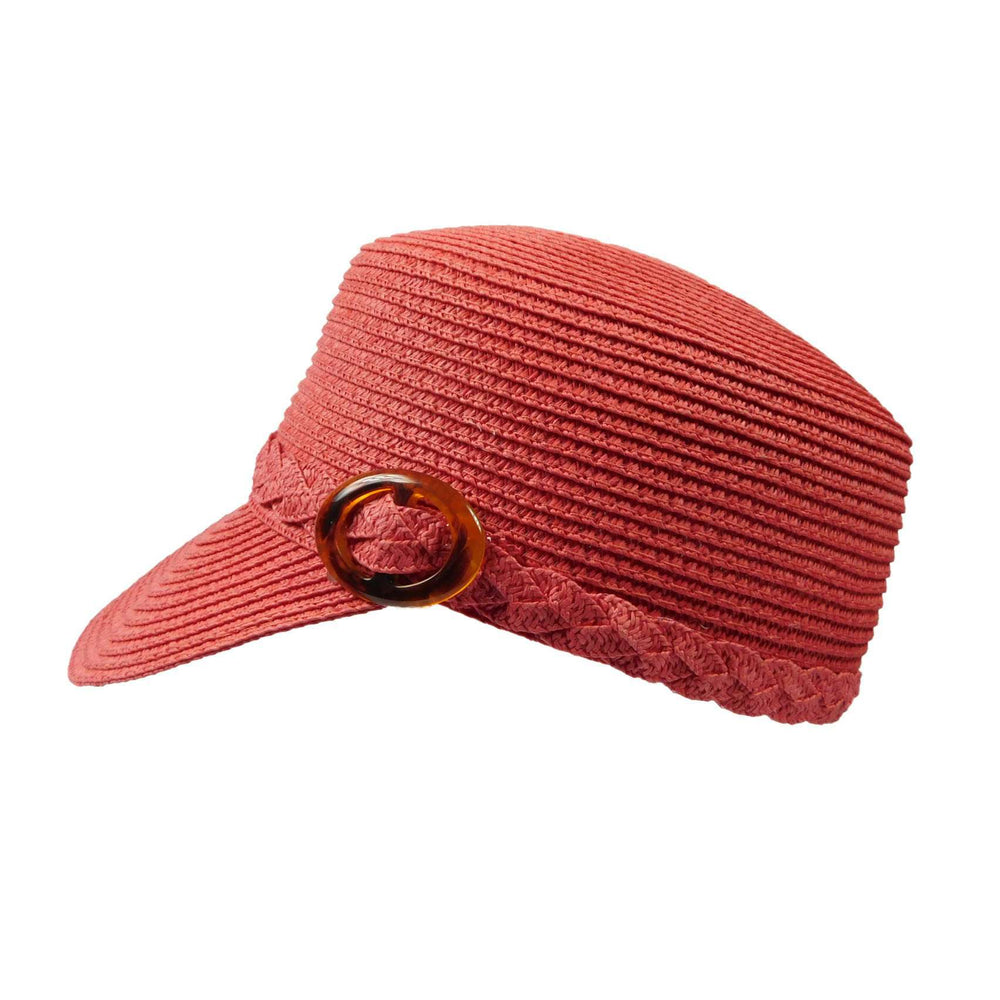Straw Cadet Cap by JSA for Women - SetarTrading Hats