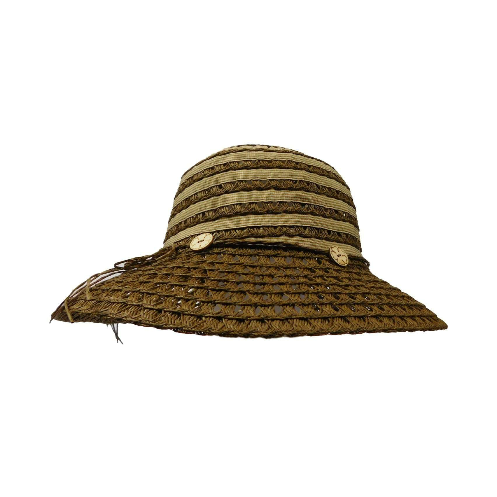 Ribbon and Toyo Bucket Hat - SetarTrading Hats