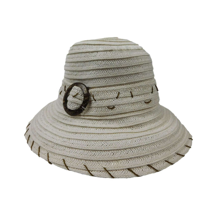 White Summer Bucket Hat - SetarTrading Hats