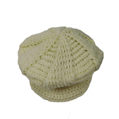 Knit Newsboy Cap - SetarTrading Hats