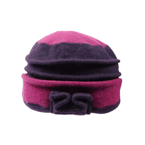 Two Tone Boiled Wool Beanie