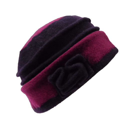 Two Tone Boiled Wool Beanie - SetarTrading Hats