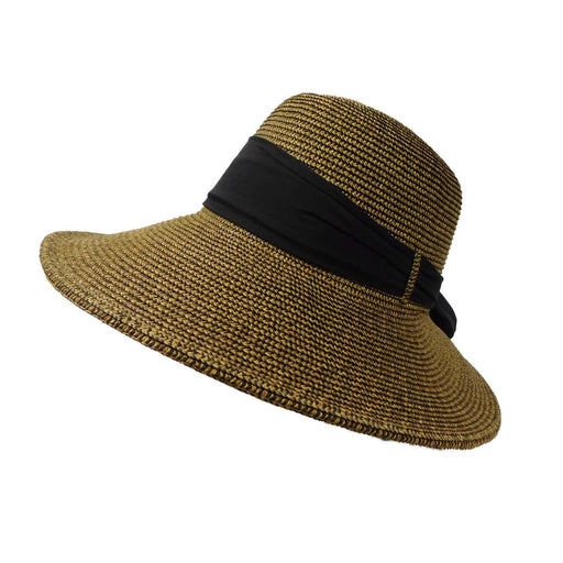 Asymmetrical Big Brim Summer Hat - SetarTrading Hats