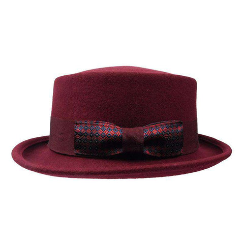 Gambler - Heisenberg Wool Felt Burgundy by JSA for Men - Large