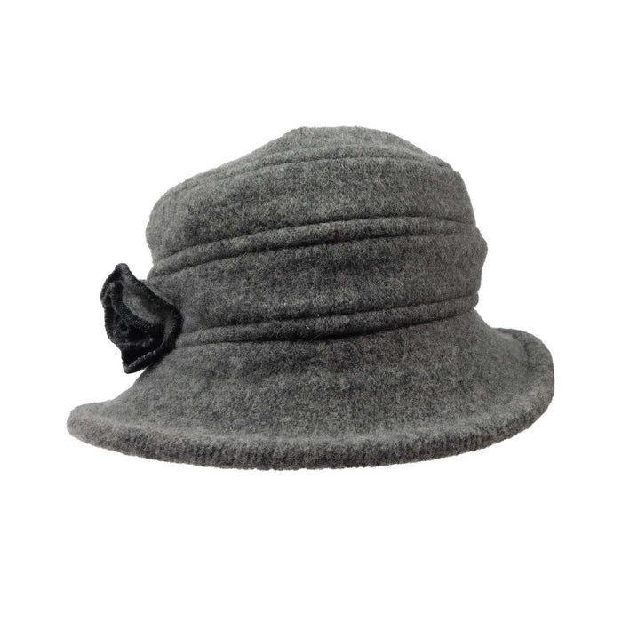 Small Boiled Wool Hat - SetarTrading Hats