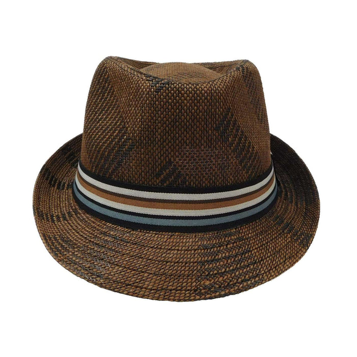 Summer Fedora with Striped Band - SetarTrading Hats