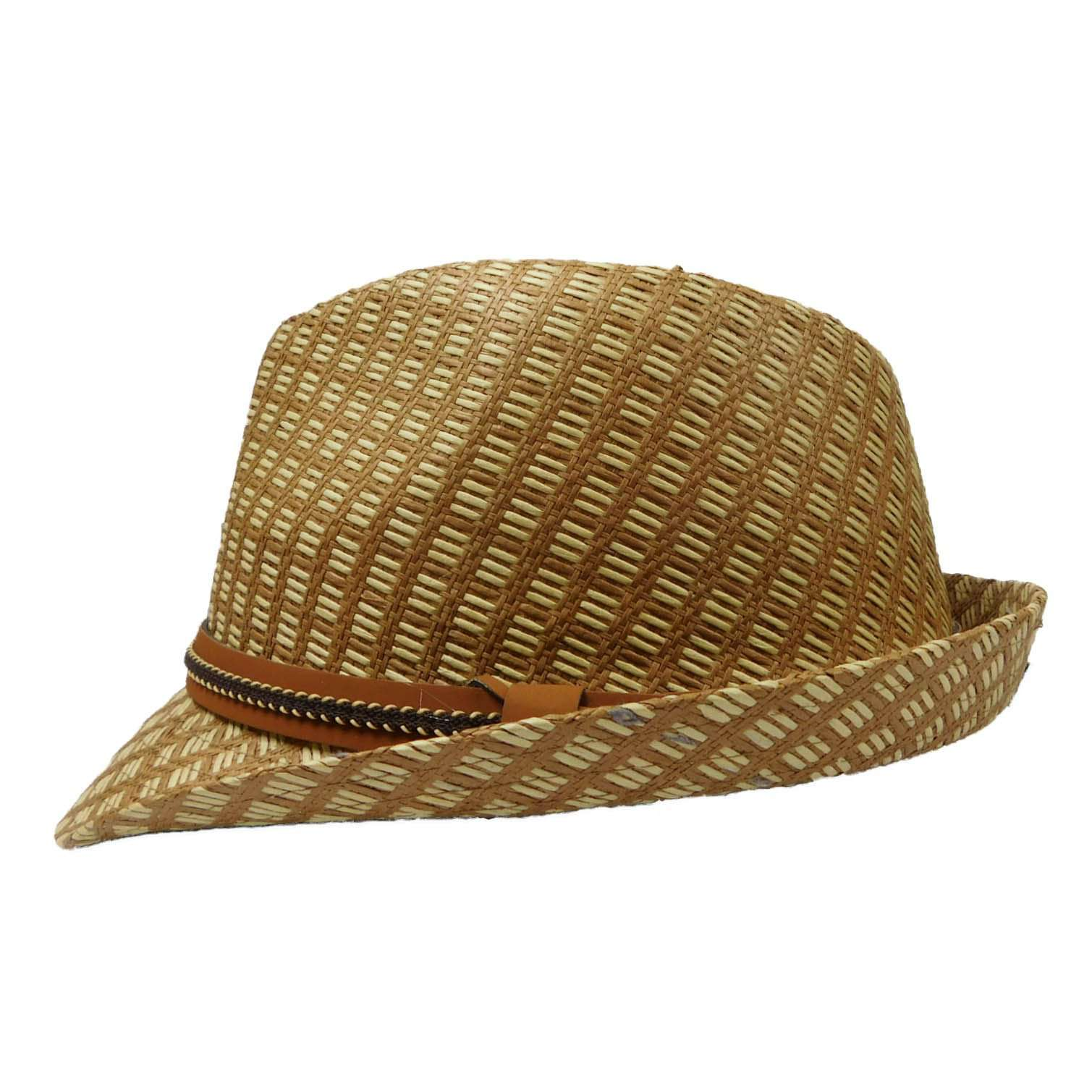 Checkered Summer Fedora - SetarTrading Hats