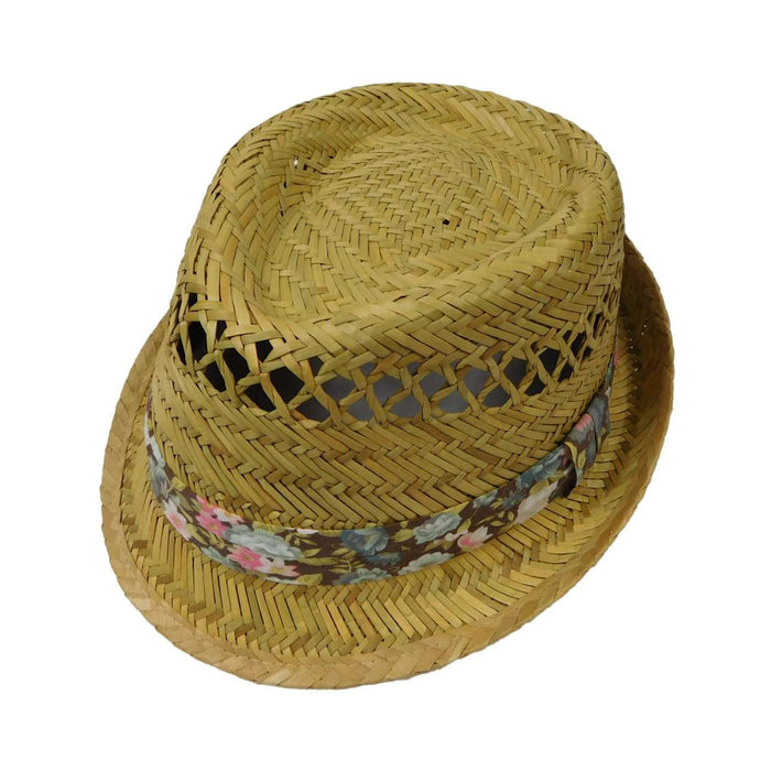 Rush Straw Fedora - SetarTrading Hats