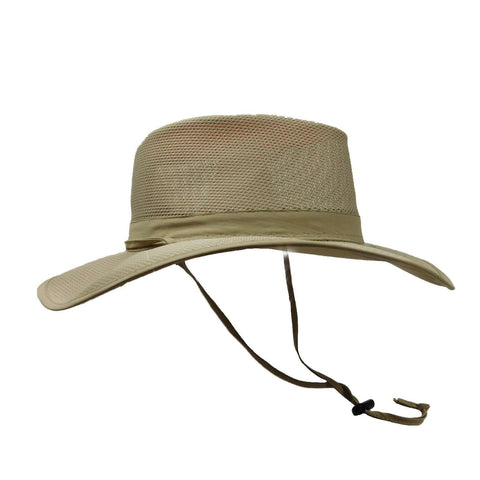 Stetson No Fly Zone Mesh Brim Safari Hat