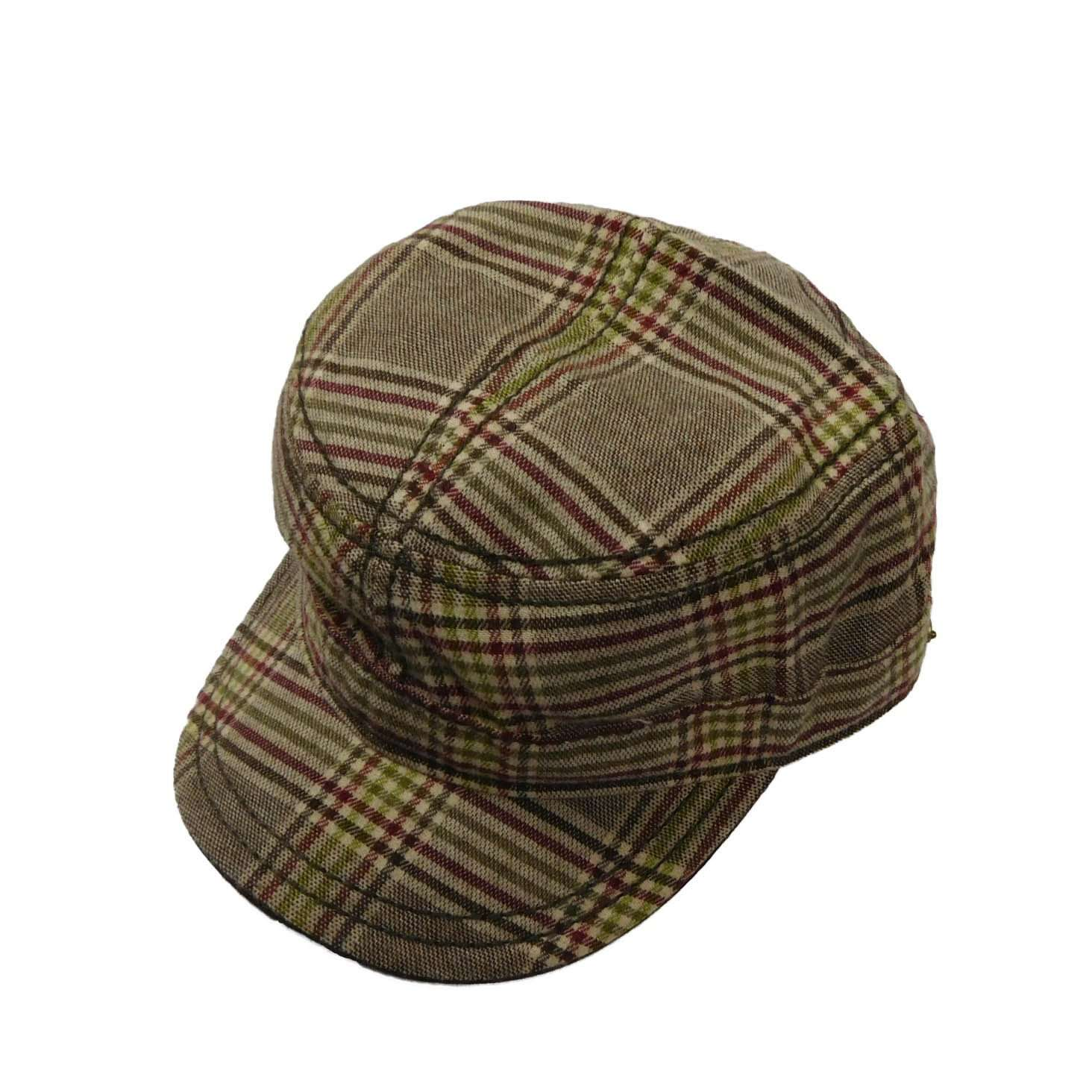 Stetson Plaid Cadet Cap - SetarTrading Hats