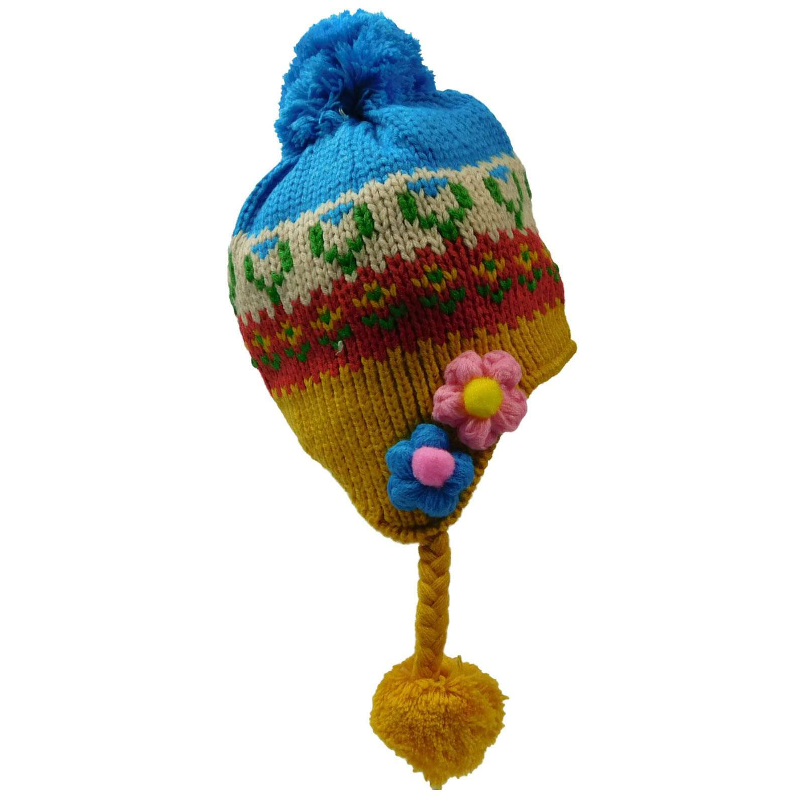 Flower Trapper Hat - SetarTrading Hats