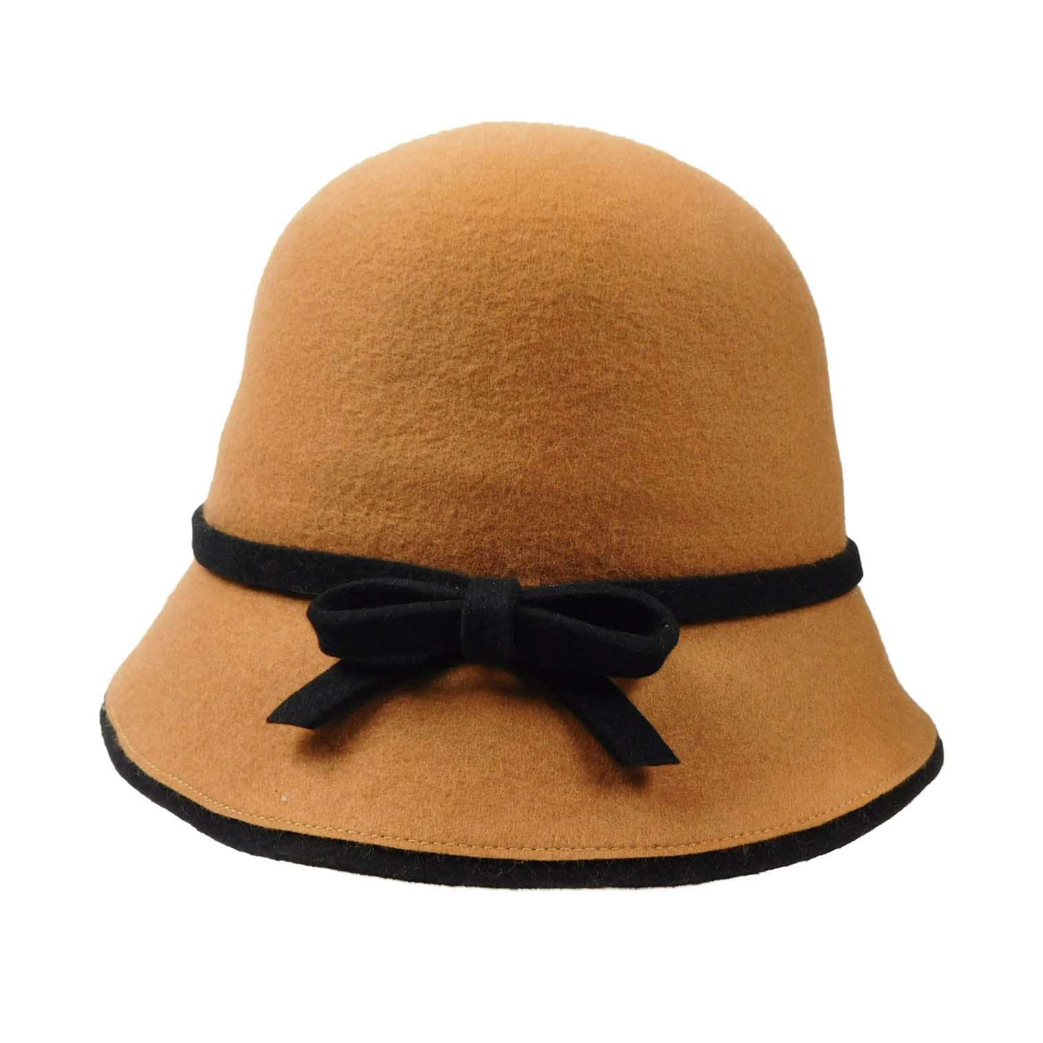 Wool Felt Cloche/Bucket Hat - SetarTrading Hats