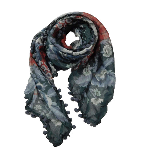 Cheetah Rose Scarf - SetarTrading Hats