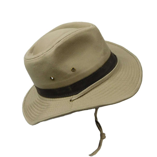 Cotton Outback with Chin Cord - SetarTrading Hats