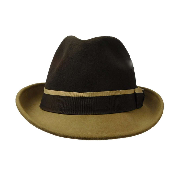 Stacy Adams Two Tone Fedora - SetarTrading Hats
