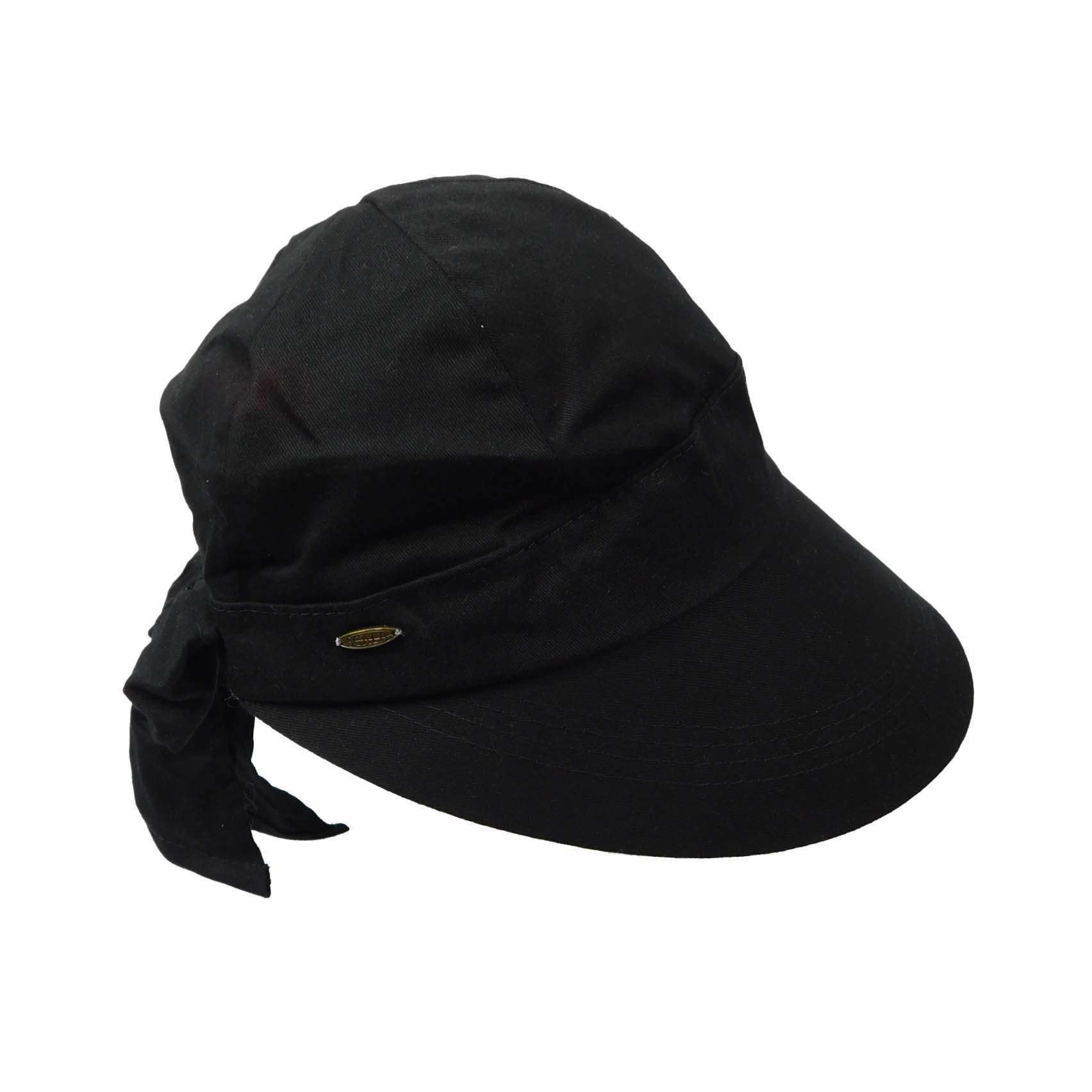 Cotton Facesaver Cap with Bow - SetarTrading Hats