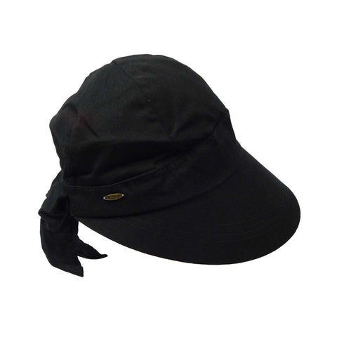 Cotton Facesaver Cap with Bow
