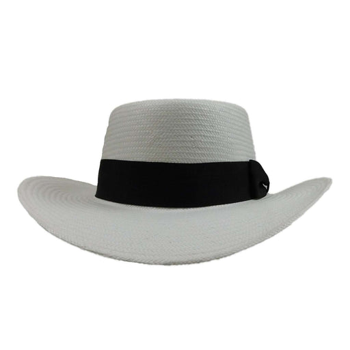 White Toyo Gambler Golf Hat - SetarTrading Hats
