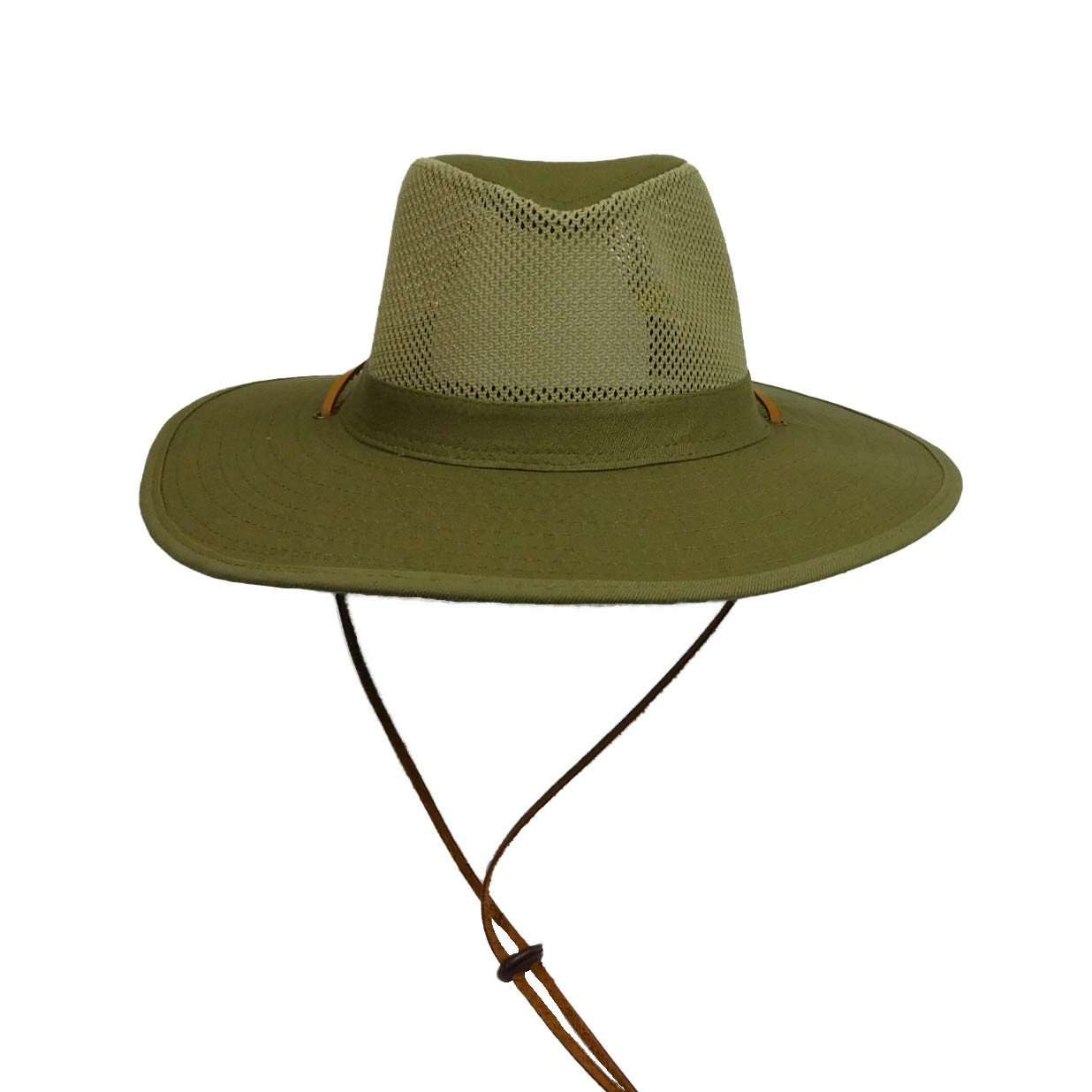 Mesh Top Safari Hat -Olive - SetarTrading Hats