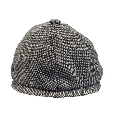 Tweed Poor Boy Cap
