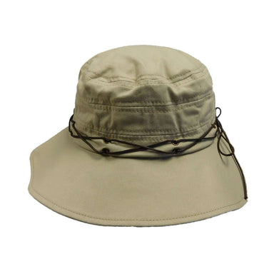 Scala Collezion Bucket Hat with Waxed Cord Accent - SetarTrading Hats