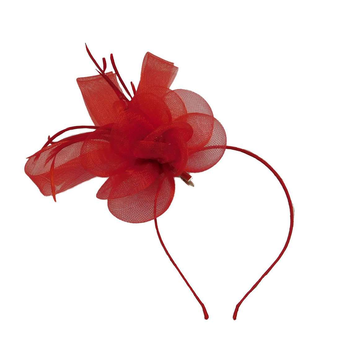 Mesh Flower Fascinator - SetarTrading Hats