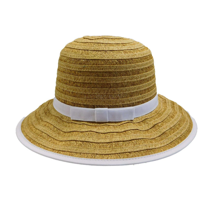 Cappelli Big Brim Hat with Ribbon Accent - SetarTrading Hats