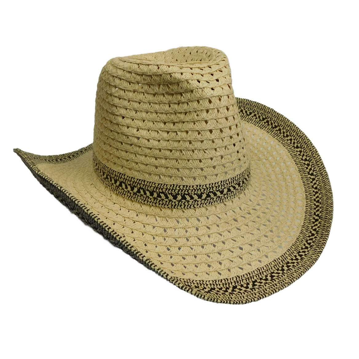 Cowboy Hat with Tribal Design Band - SetarTrading Hats