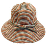 Checkered Ribbon Hat - SetarTrading Hats