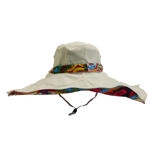Sun Hat with Boho Lining - SetarTrading Hats