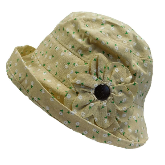 Floral Design Cloche Hat - SetarTrading Hats