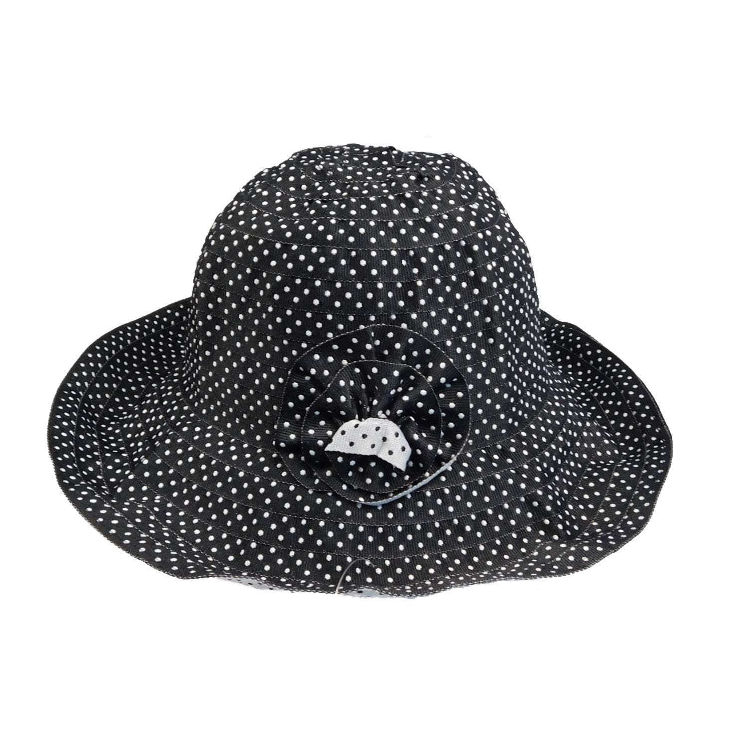 Polka Dot Ribbon Hat - SetarTrading Hats
