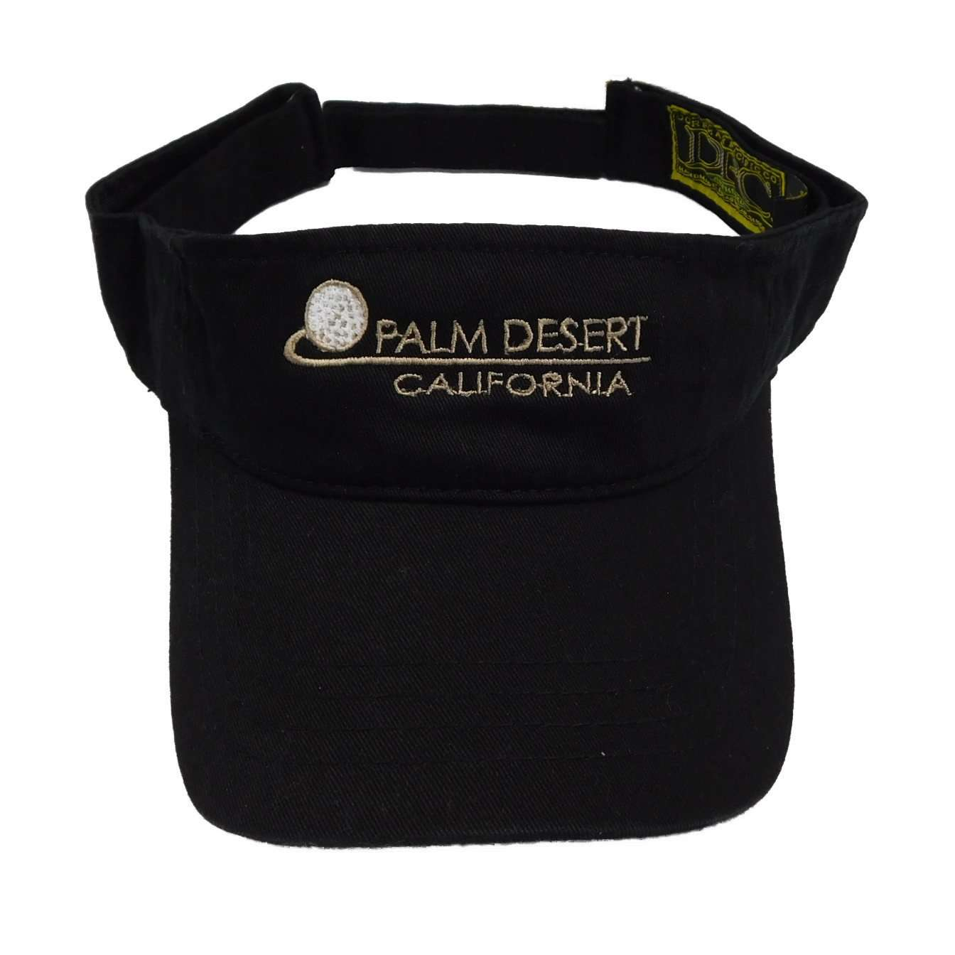 DPC Men's Sun Visor with PALM DESRT embroidery - SetarTrading Hats