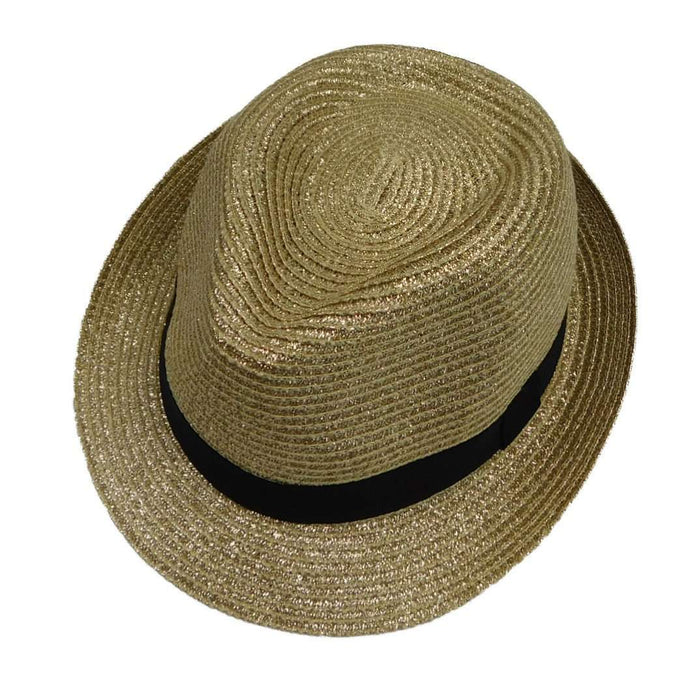 Metallic Fedora - SetarTrading Hats