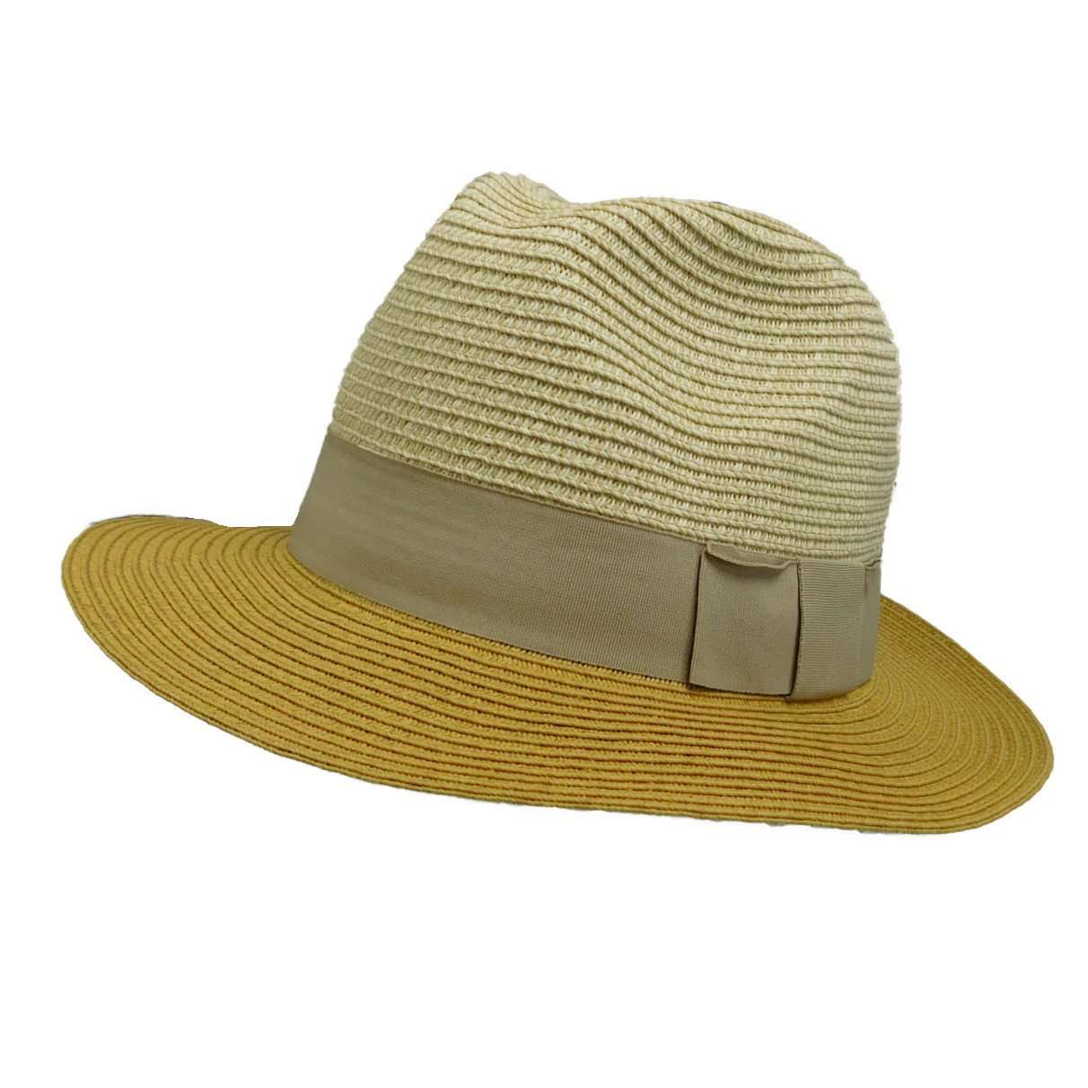 Two Tone Safari Style Hat - SetarTrading Hats
