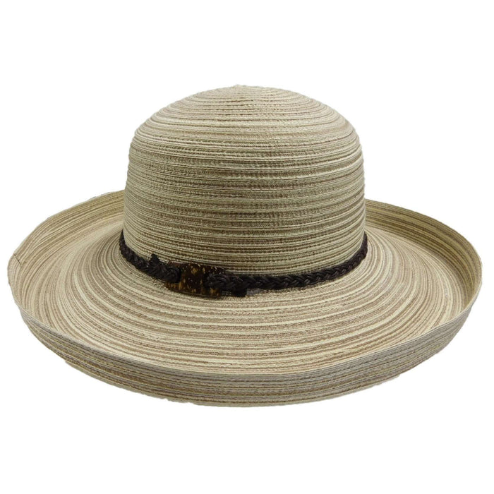 Polybraid Kettle Brim Sun Hat - SetarTrading Hats