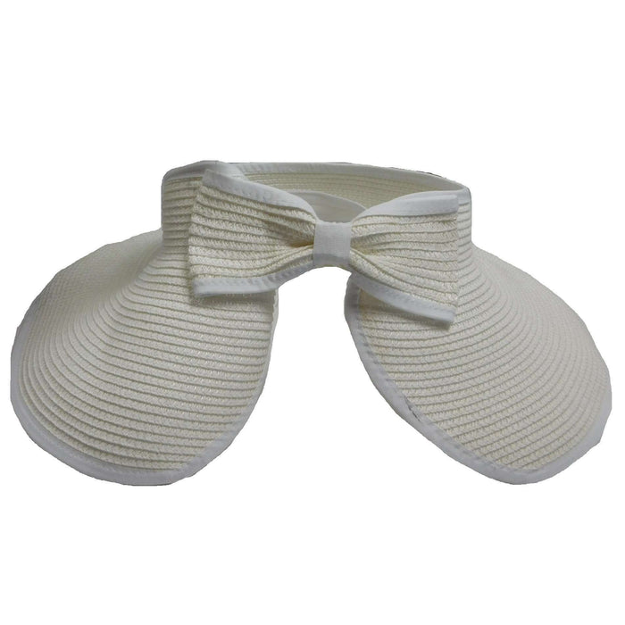 Rollup Visor with Bow by Milani - SetarTrading Hats