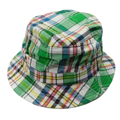 Tropical Trends Plaid Golf Bucket Hat - SetarTrading Hats
