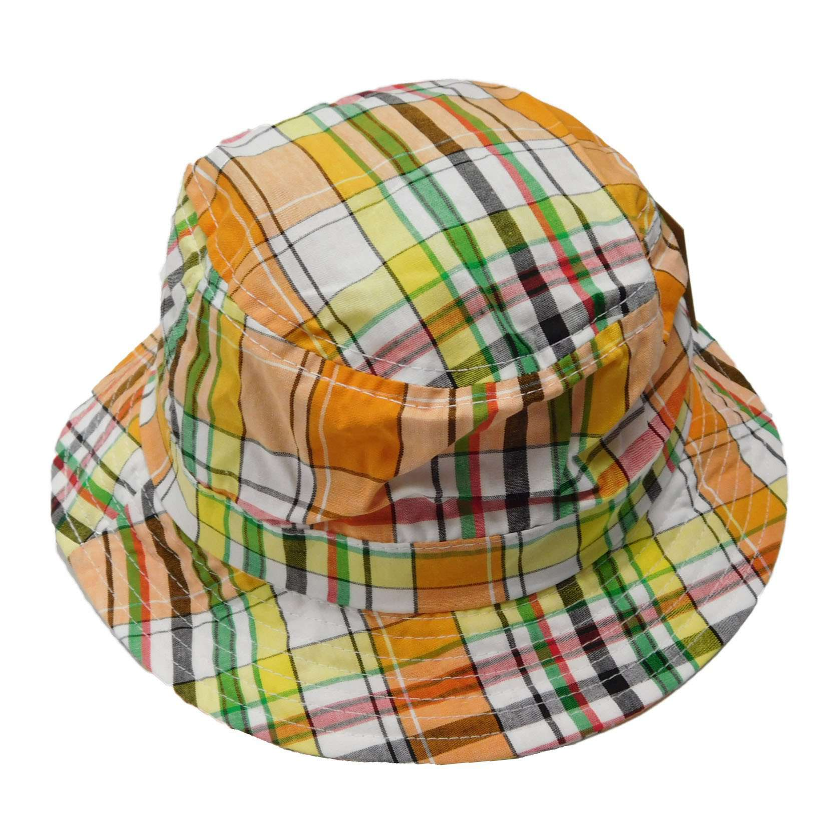 Tropical Trends Plaid Golf Bucket Hat  e27ddc3d73e7