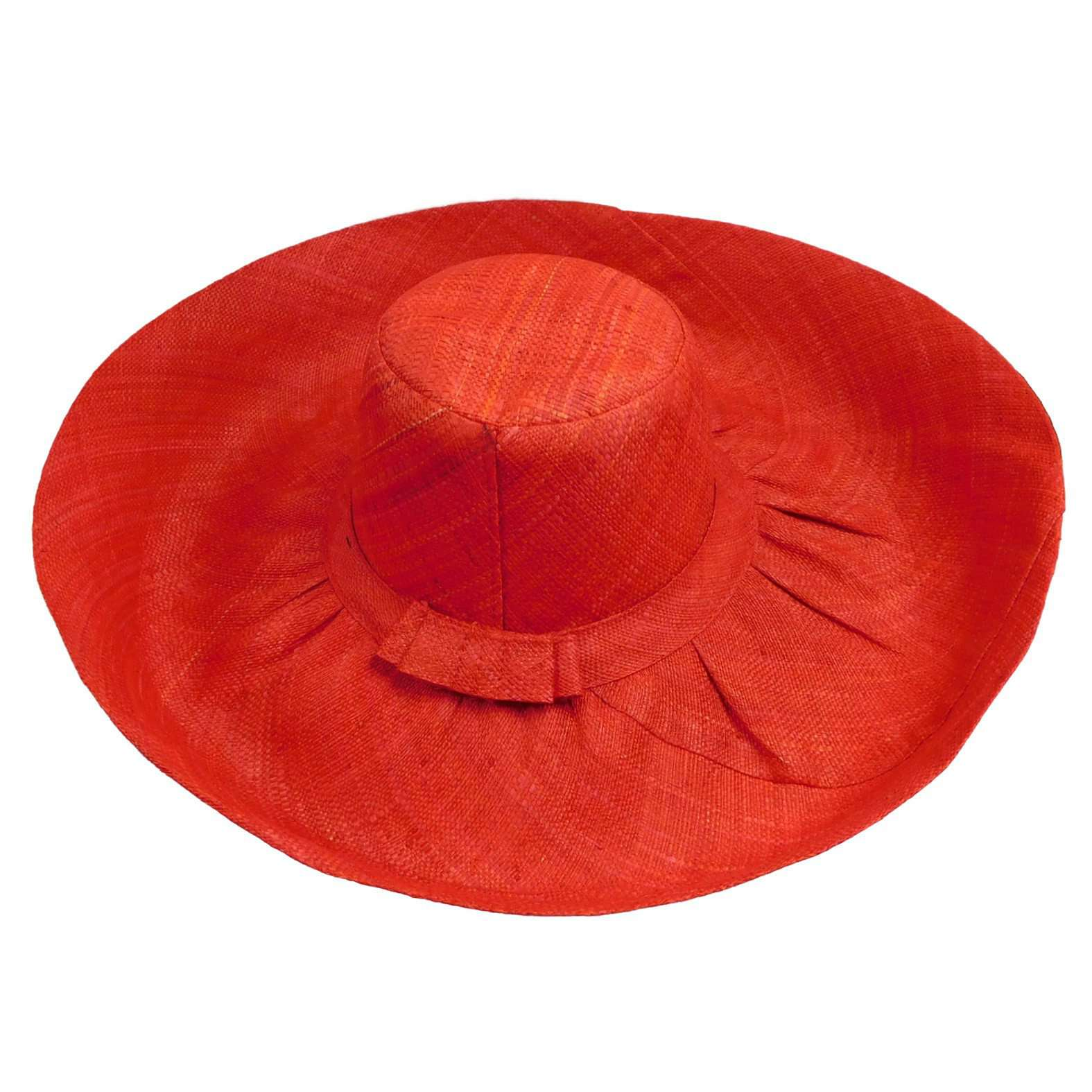Madagascar Raffia Large Beach Hat - SetarTrading Hats