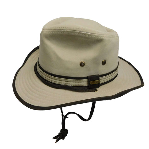 Stetson Garment Washed Twill Outback Hat