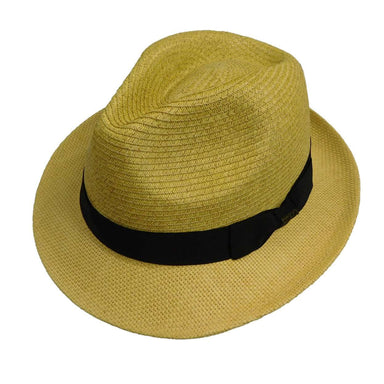 Scala Fedora with Weaved Brim - SetarTrading Hats