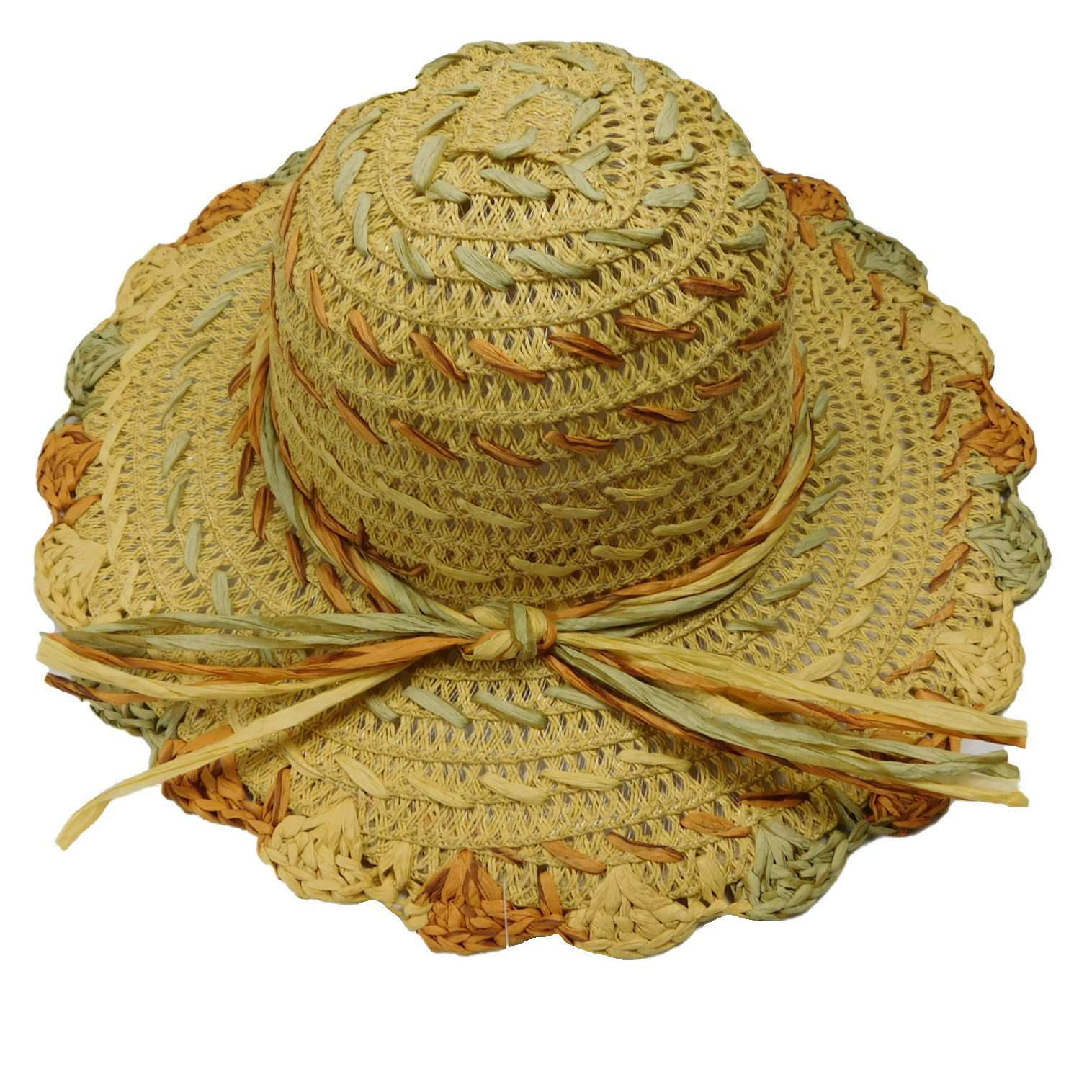 Multicolor Toyo Sun Hat - SetarTrading Hats