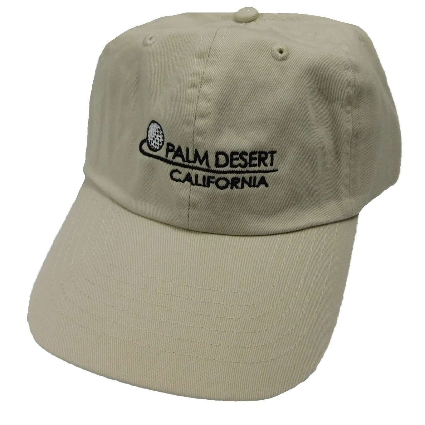 DPC Unstructured Twill Cap with PALM DESERT - SetarTrading Hats