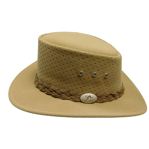 Aussie Chiller Perforated Bushie Hat