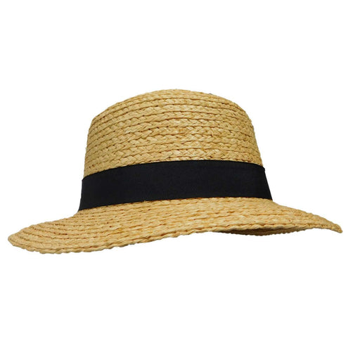 Raffia Braid Boater - SetarTrading Hats