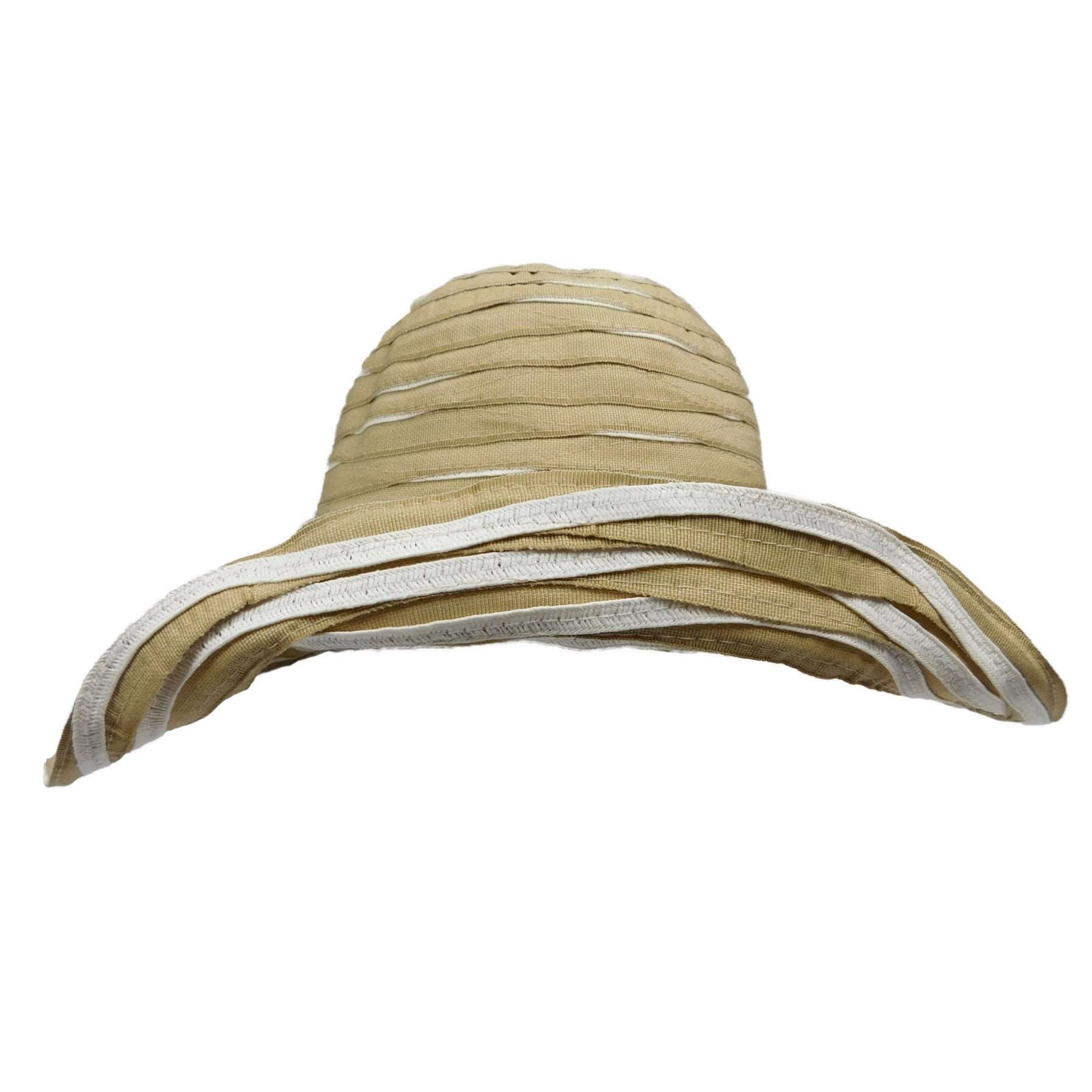 Two Tone Reversible Ribbon Crusher - SetarTrading Hats